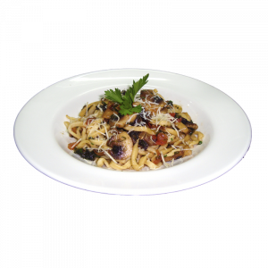 Mushrooms-pasta